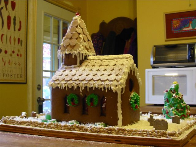 The Making of a Gingerbread House. » The Daily Dish