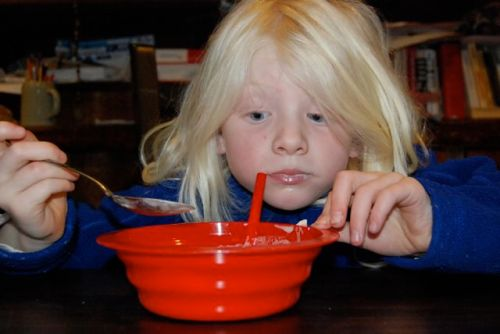 straw bowl