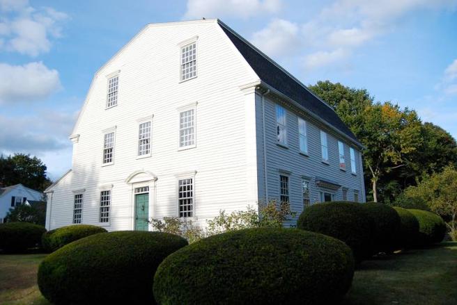 The Dole House & its many bushes