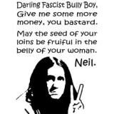 Darling Fascist Bully Boys (and Girls)