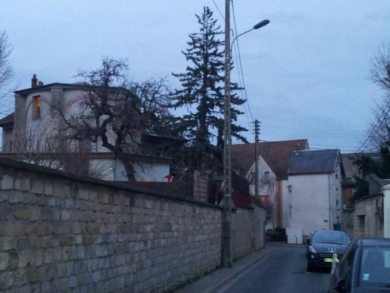 Rue de la Citadelle à Pontoise